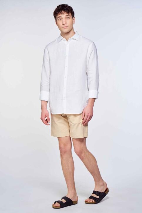 Le Fabuleux Marcel de Bruxelles Hemden (lange mouwen) wit IMP211MT 016_WHITE img2