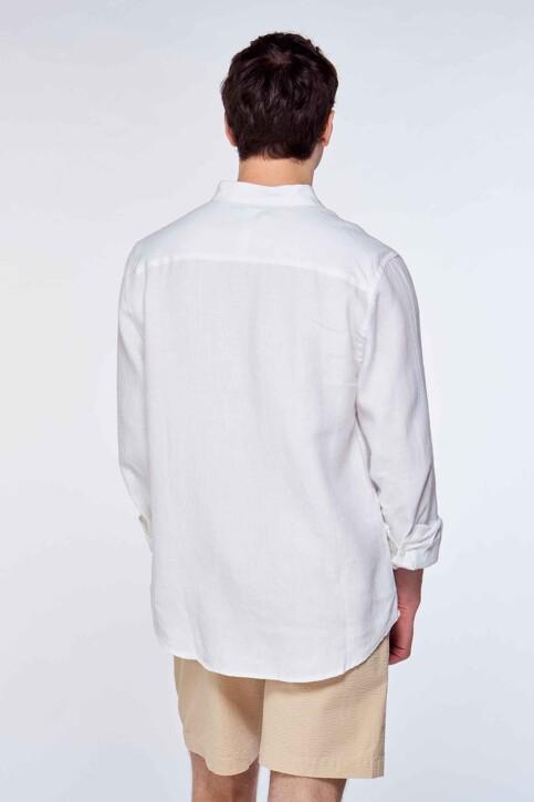 Le Fabuleux Marcel de Bruxelles Hemden (lange mouwen) wit IMP211MT 016_WHITE img4