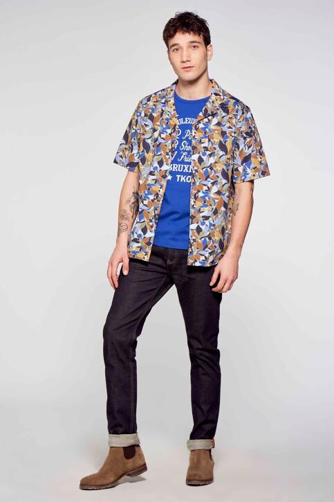 Le Fabuleux Marcel de Bruxelles Hemden (korte mouwen) multicolor IMP211MT 017_MULTI img1
