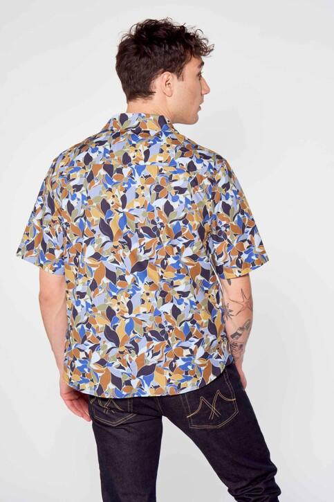 Le Fabuleux Marcel de Bruxelles Hemden (korte mouwen) multicolor IMP211MT 017_MULTI img3