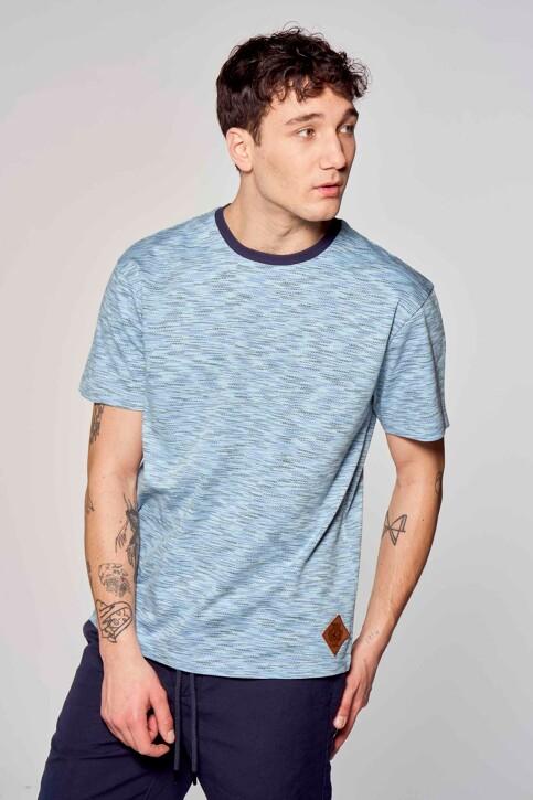 Le Fabuleux Marcel de Bruxelles T-shirts (korte mouwen) blauw IMP211MT 020_BLUE img1