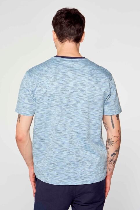Le Fabuleux Marcel de Bruxelles T-shirts (korte mouwen) blauw IMP211MT 020_BLUE img2