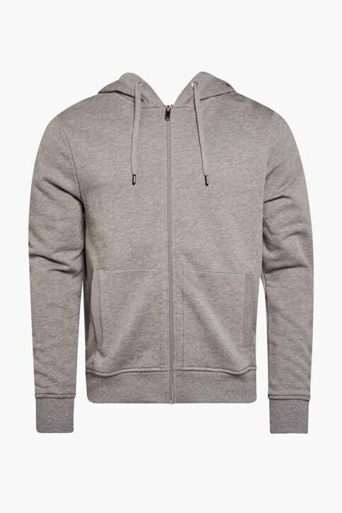 Le Fabuleux Marcel de Bruxelles Sweaters (gilet) grijs IMP211MT 027_GREY img1