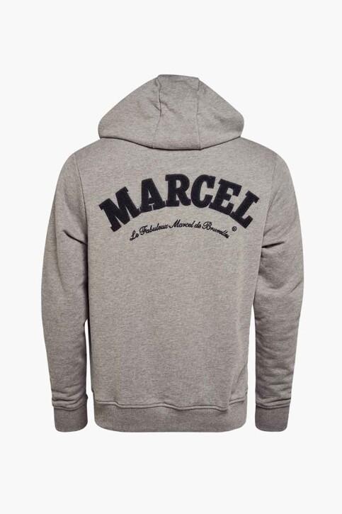 Le Fabuleux Marcel de Bruxelles Sweaters (gilet) grijs IMP211MT 027_GREY img2
