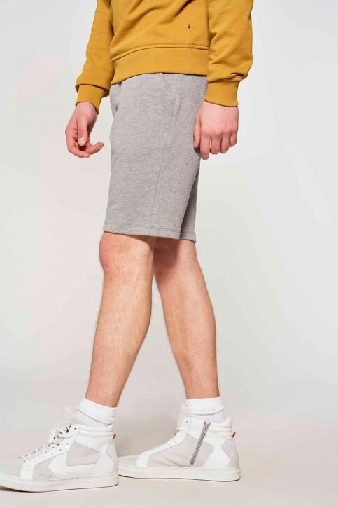 Le Fabuleux Marcel de Bruxelles Shorts grijs IMP211MT 028_GREY img1