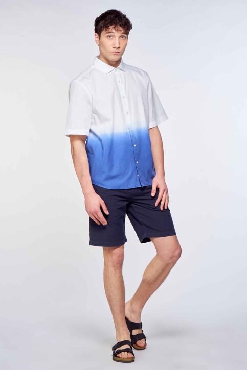 Le Fabuleux Marcel de Bruxelles Shorts blauw IMP211MT 042_NAVY img1