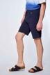 Le Fabuleux Marcel de Bruxelles Shorts blauw IMP211MT 042_NAVY img2