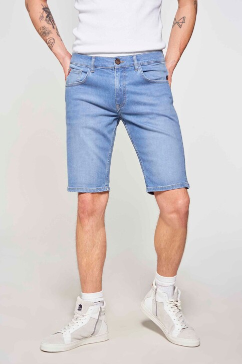 Le Fabuleux Marcel de Bruxelles Denim shorts denim IMP211MT 048_DENIM img2