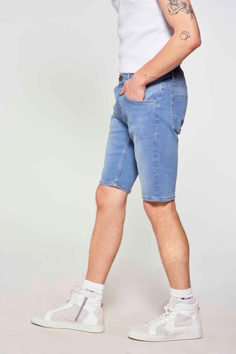 Le Fabuleux Marcel de Bruxelles Denim shorts denim IMP211MT 048_DENIM img3