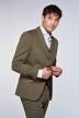 Le Fabuleux Marcel de Bruxelles Blazers groen IMP213MT 001_KHAKI img2