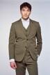 Le Fabuleux Marcel de Bruxelles Blazers groen IMP213MT 001_KHAKI img3