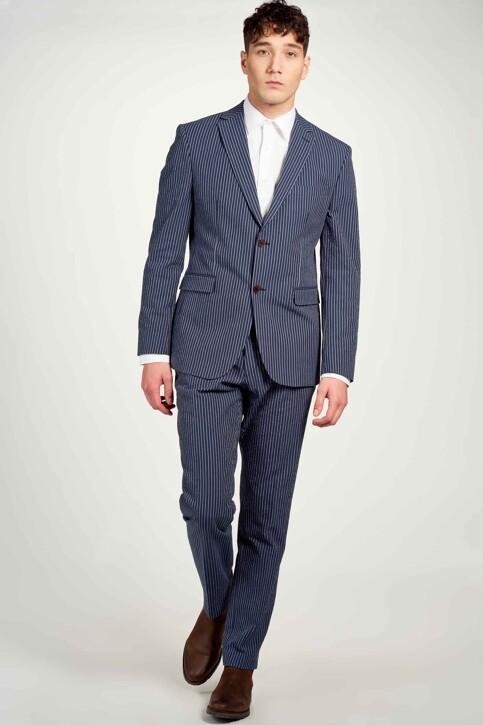 Le Fabuleux Marcel de Bruxelles Blazers blauw IMP213MT 005_NAVY img2