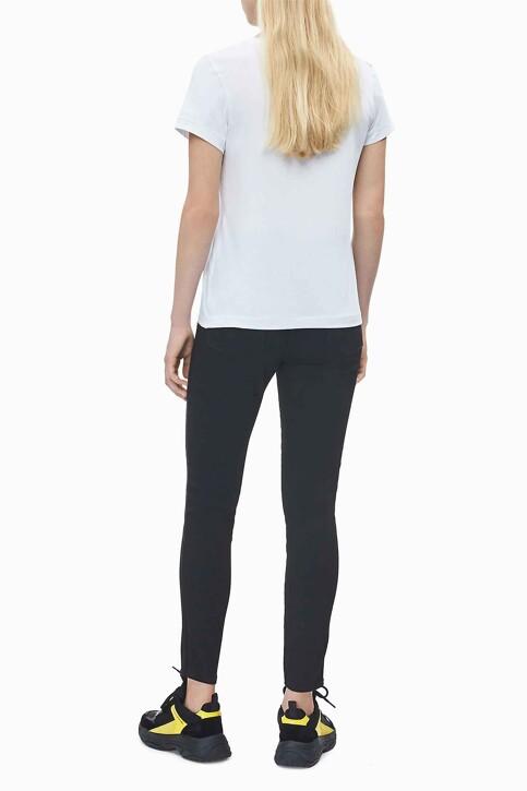 Calvin Klein Tops uni manche courte blanc J20J212883YAF_YAF BRIGHT WHIT img3