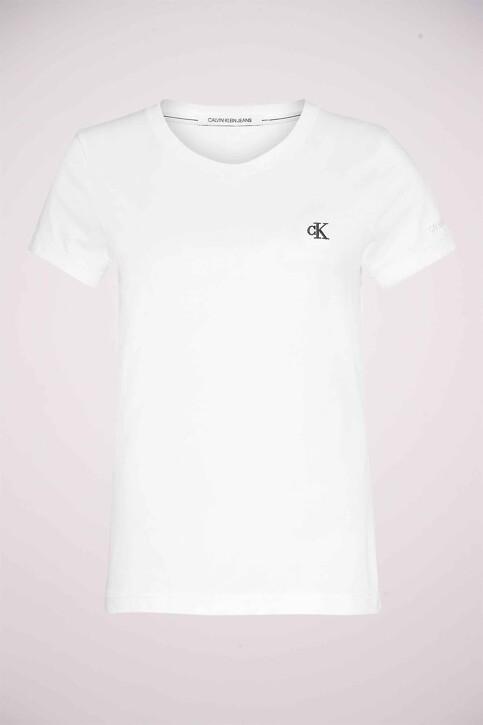 Calvin Klein Tops uni manche courte blanc J20J212883YAF_YAF BRIGHT WHIT img5