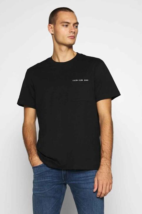 Calvin Klein T-shirts (korte mouwen) zwart J30J316601BEH_BEH CL BLACK img1