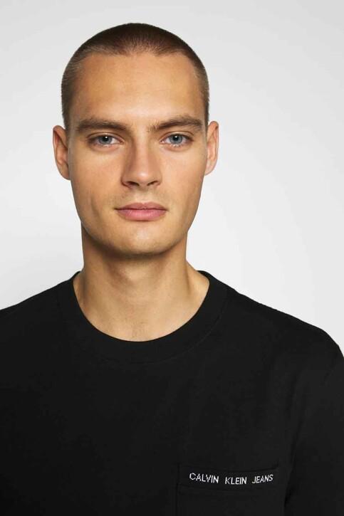 Calvin Klein T-shirts (korte mouwen) zwart J30J316601BEH_BEH CL BLACK img4