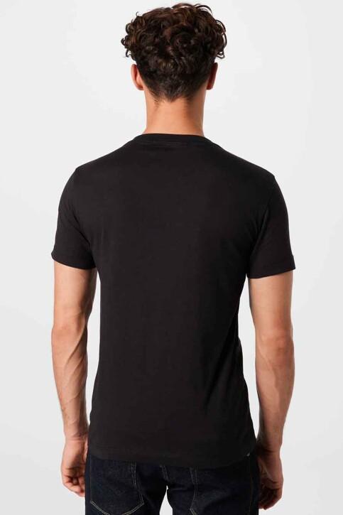 Calvin Klein T-shirts (korte mouwen) zwart J30J3170920GO_0GO CK BLACK BR img2