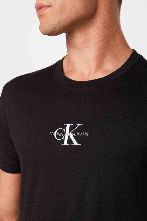 Calvin Klein T-shirts (korte mouwen) zwart J30J3170920GO_0GO CK BLACK BR img3