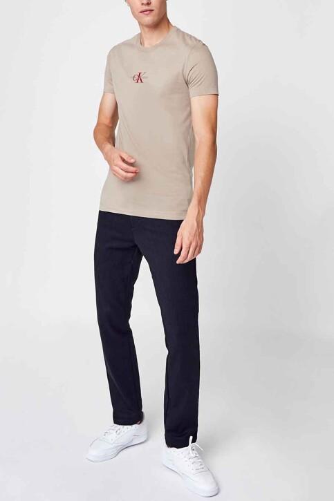 Calvin Klein T-shirts (korte mouwen) beige J30J317092PBF_PBF CROCKERY SA img2