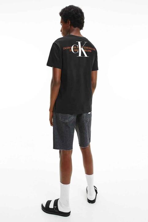 Calvin Klein T-shirts (korte mouwen) zwart J30J318309BEH_BEH CL BLACK img1