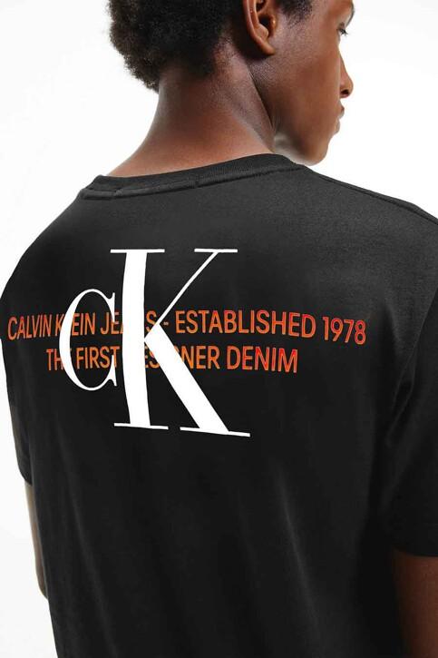 Calvin Klein T-shirts (korte mouwen) zwart J30J318309BEH_BEH CL BLACK img2