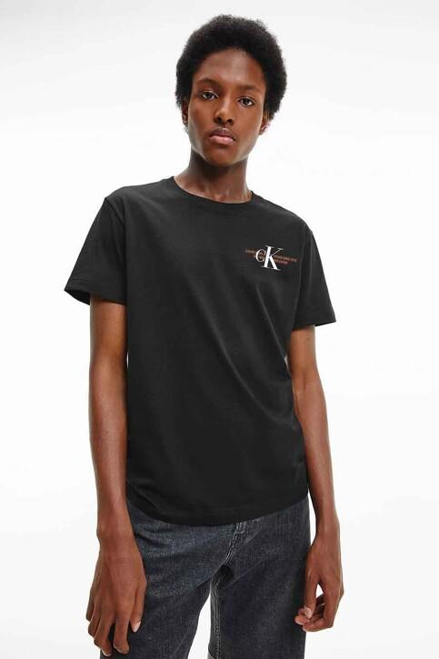Calvin Klein T-shirts (korte mouwen) zwart J30J318309BEH_BEH CL BLACK img4