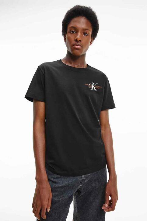 Calvin Klein T-shirts (korte mouwen) zwart J30J318309BEH_BEH CL BLACK img5