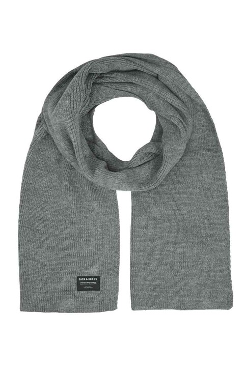 ACCESSORIES BY JACK & JONES Wintersjaals grijs JACDNA KNIT SCARF_GREY MELANGE img1