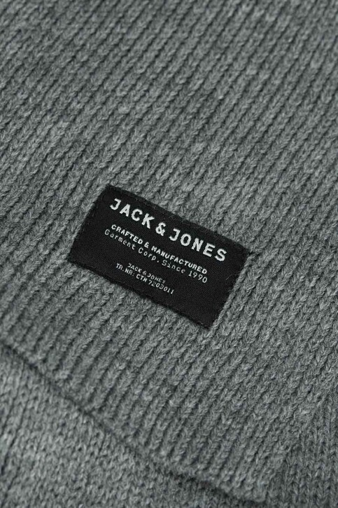 ACCESSORIES BY JACK & JONES Wintersjaals grijs JACDNA KNIT SCARF_GREY MELANGE img2