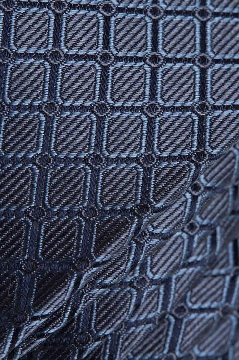 ACCESSORIES BY JACK & JONES Cravates bleu JACFLORENCE TIE_NAVY BLAZER img3
