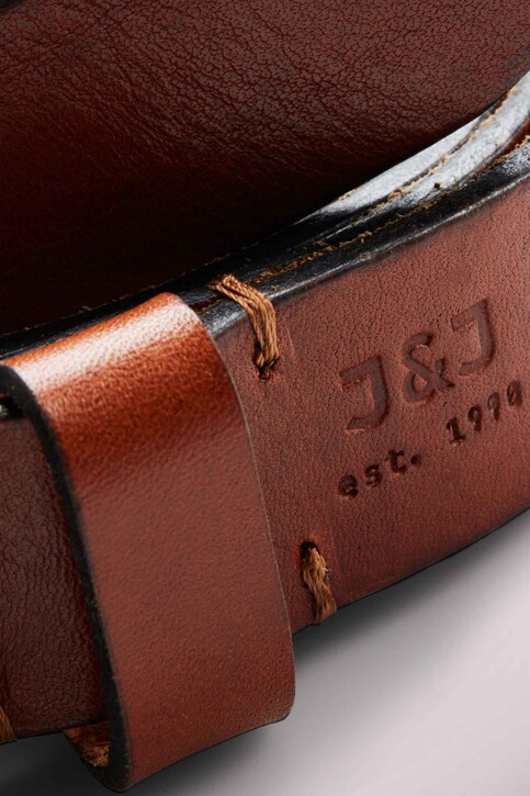 ACCESSORIES BY JACK & JONES Ceintures JACLEE LEATHER BELT_MOCHA BISQUE img4