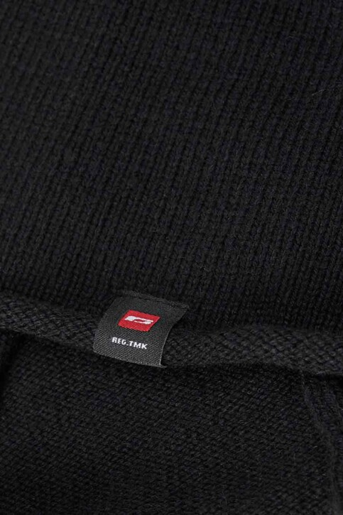 ACCESSORIES BY JACK & JONES Mutsen zwart JACTYLER LONG BEANIE_BLACK img2