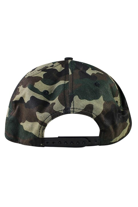 ACCESSORIES BY JACK & JONES Casquettes bleu JACWU TANG SNAPBACK_FOREST NIGHT img5