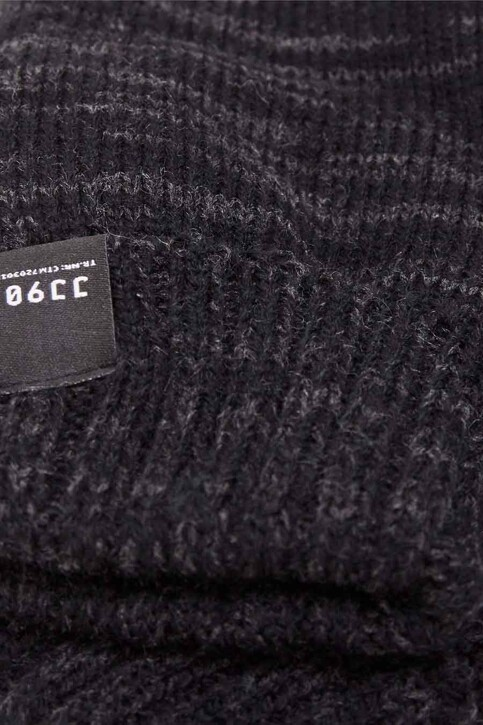 ACCESSORIES BY JACK & JONES Handschoenen grijs JCONOAH KNITTED GLOV_DARK GREY MEL img2