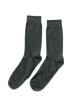 ACCESSORIES BY JACK & JONES Chaussettes gris JENS SOCK 1113_DARK GREY MELAN img1