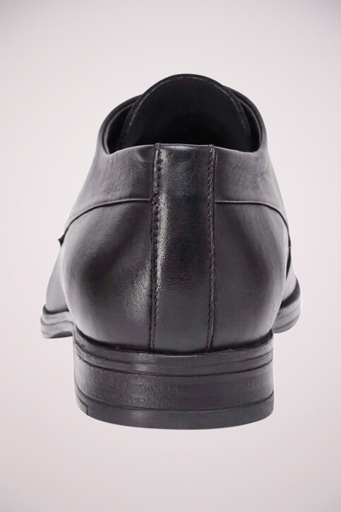 ACCESSORIES BY JACK & JONES Chaussures noir JFWSAMMY LEATHER NOO_ANTRACITE img4