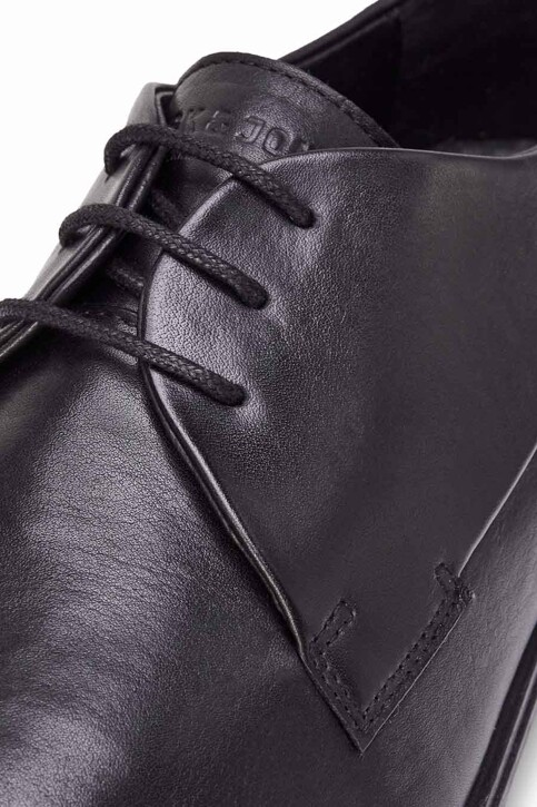 ACCESSORIES BY JACK & JONES Chaussures noir JFWSAMMY LEATHER NOO_ANTRACITE img8