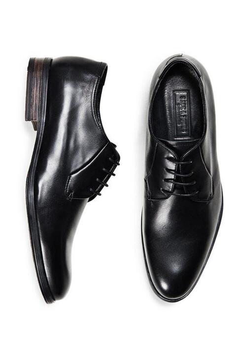 ACCESSORIES BY JACK & JONES Schoenen zwart JJ MAGNUS L DRESS SH_BLACK img1