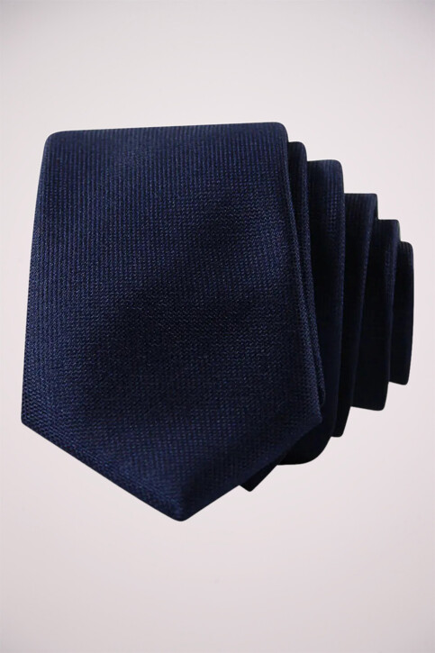 ACCESSORIES BY JACK & JONES Cravates bleu JJACNOOS TIE_BLACK NAVY img2