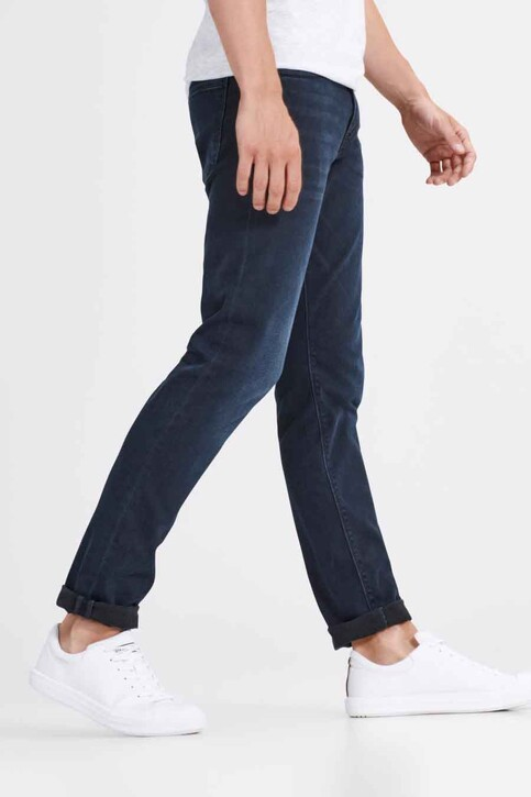 JACK & JONES JEANS INTELLIGENCE Jeans slim denim JJGLENN FELIX_AM458BLACK img3