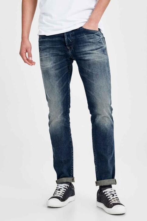JACK & JONES JEANS INTELLIGENCE Jeans slim denim JJIGLENN JJPAGE_BL708BLUE img1