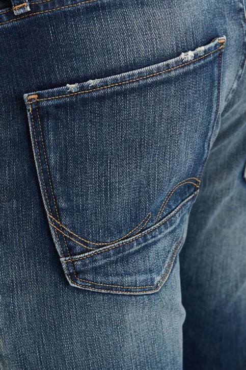 JACK & JONES JEANS INTELLIGENCE Jeans slim denim JJIGLENN JJPAGE_BL708BLUE img4