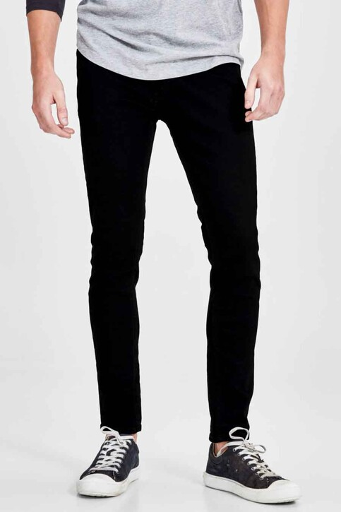 JACK & JONES JEANS INTELLIGENCE Jeans skinny noir JJLIAM ORIGINAL_M009BLACK img1