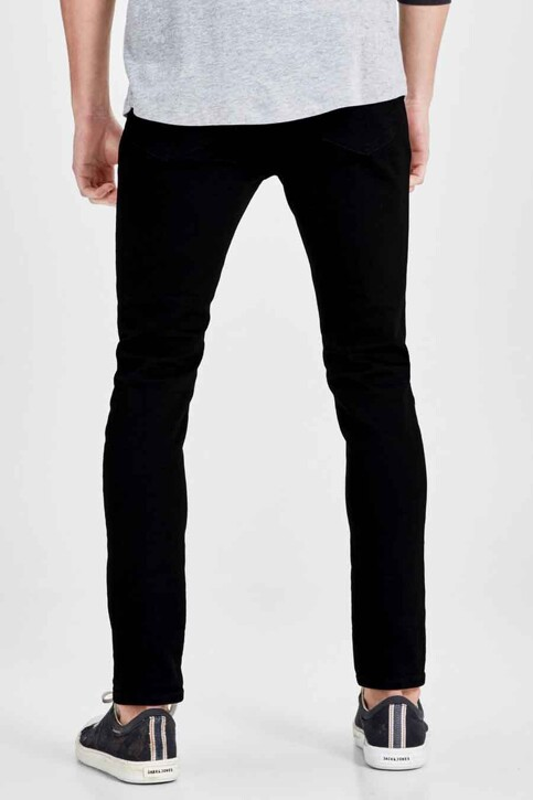 JACK & JONES JEANS INTELLIGENCE Jeans skinny noir JJLIAM ORIGINAL_M009BLACK img2