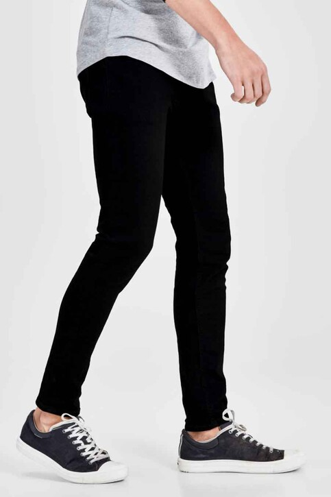 JACK & JONES JEANS INTELLIGENCE Jeans skinny noir JJLIAM ORIGINAL_M009BLACK img7