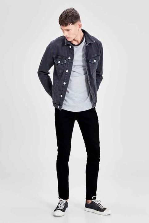 JACK & JONES JEANS INTELLIGENCE Jeans skinny BLACK DENIM JJLIAM ORIGINAL_M009BLACK img8