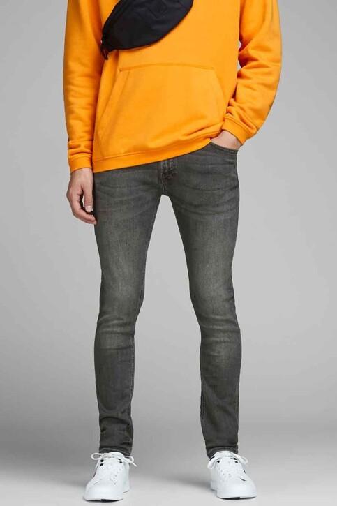 JACK & JONES JEANS INTELLIGENCE Jeans skinny gris JJLIAM ORIGINAL_M010GREY img1