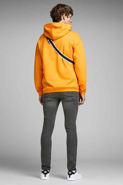 JACK & JONES JEANS INTELLIGENCE Jeans skinny gris JJLIAM ORIGINAL_M010GREY img3