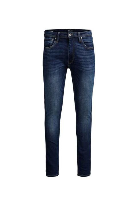 JACK & JONES JEANS INTELLIGENCE Jeans skinny denim JJLIAM ORIGINAL_M014BLUE img3