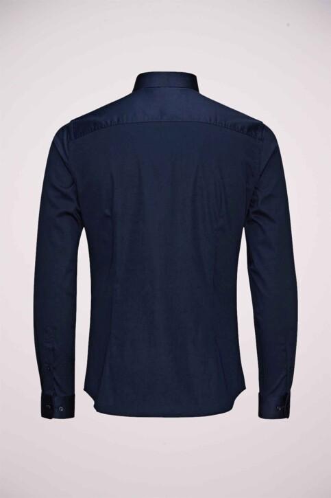 PREMIUM by JACK & JONES Hemden (lange mouwen) blauw JJPRPARMA SHIRT LS_NAVY BLAZER img3